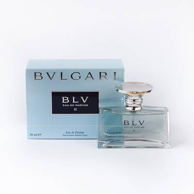Оригинальные женские духи BVLGARI BLV Eau de Parfum II 30ml парфюмированная вода, пудровый цветочный аромат