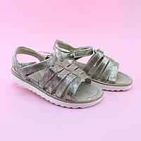 Босоножки сандалии девочке Золотые тм ТОММ размер 35,36,37, фото 1