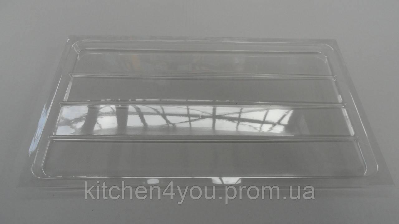 Піддон для сушіння прозорий в секцію 500 мм. 440х250х15 мм.