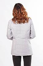Бежевая женская куртка демисезонная 44-68, фото 3