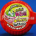 Жевательная резинка Johny Bee® Mini Roll + Tattoo рулетка фруктовая, фото 4