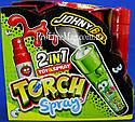 Конфета - спрей плюс фонарик JOHNY BEE® Torch Spray, фото 2