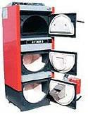 Атмос DC25SP комбинированный котел работющий на дровах, пелетах, газе, жидком топливе и других отход