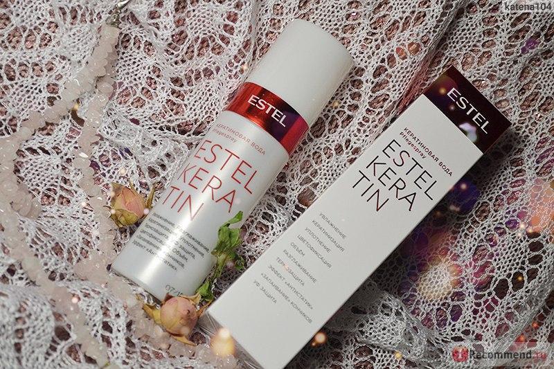 Кератиновая вода для волос Estel Professional Keratin, 100 мл.