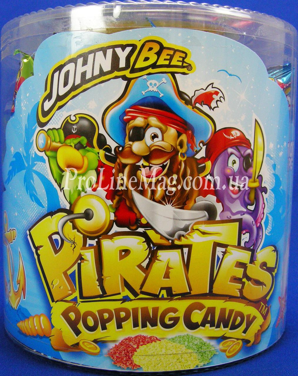 Стреляющий сахар JOHNY BEE® Pirates Popping фруктовый