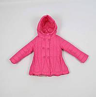 Куртка весна-осень код В16-1 размеры 92-116 (2-5 лет), розовый, фото 1