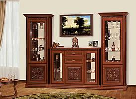 """Меблі в вітальню """"Лаціо"""" 3.3 м від Світ меблів (прованс темний)"""