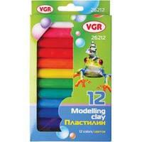 Пластилин VGR 26212 12 цветов, 200гр.