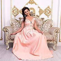 """Шикарное длинное выпускное платье в пол """"Медина"""", фото 1"""