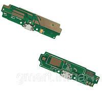 Шлейф с портом зарядки Xiaomi Redmi 4A и микрофоном, Шлейф з портом зарядки Xiaomi Redmi 4A і мікрофоном