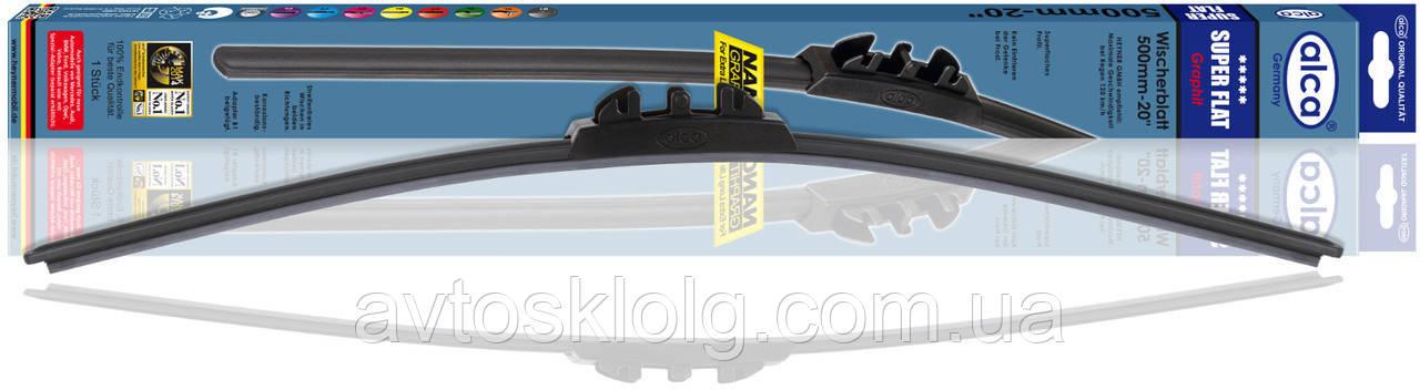 Щетка стеклоочистителя гибкая Super Flat 500 мм