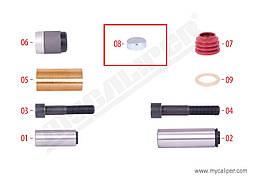 Заглушка суппорта KNORR SB6/7 Ø40 x 14,5 mm