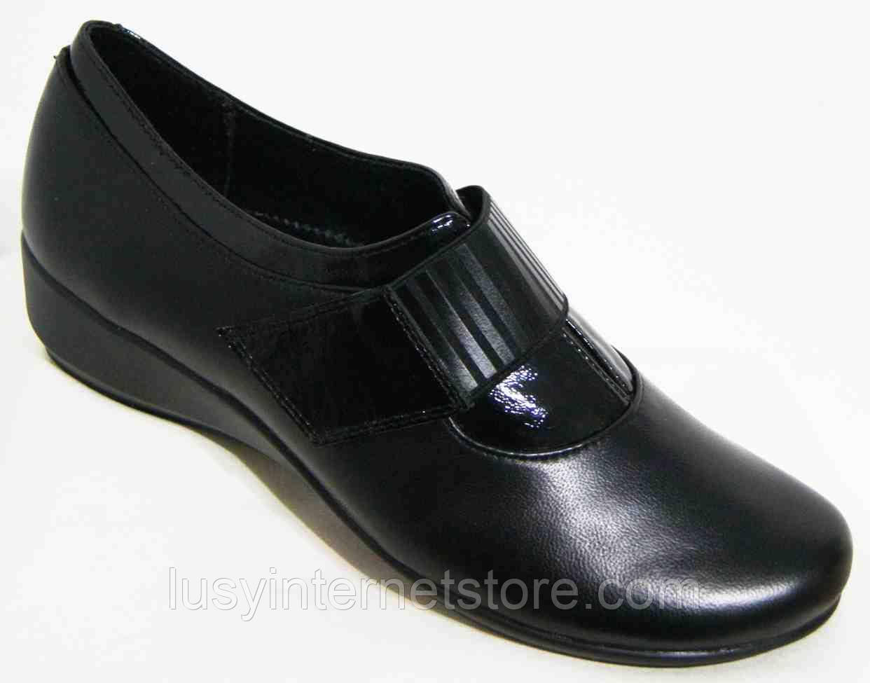 Туфли кожаные женские большого размера от производителя модель МИ5308-2