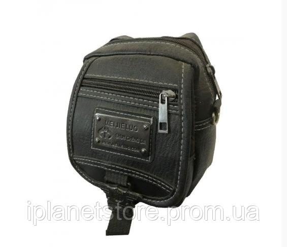 bed43727a917 Мужская сумка через плечо 029-3 черная - Интернет магазин MD Collection в  Одессе