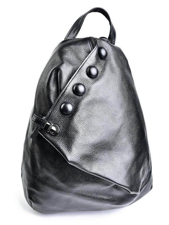 b974e13eafa7 Женский кожаный рюкзак L-328 Black.Купить кожаный рюкзак оптом и в розницу в