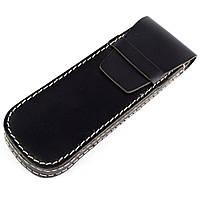 Футляр для ручек кожаный HG004 Black, фото 1