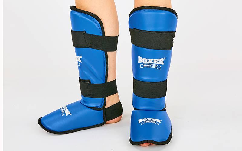 Защита для голени и стопы элит BOXER