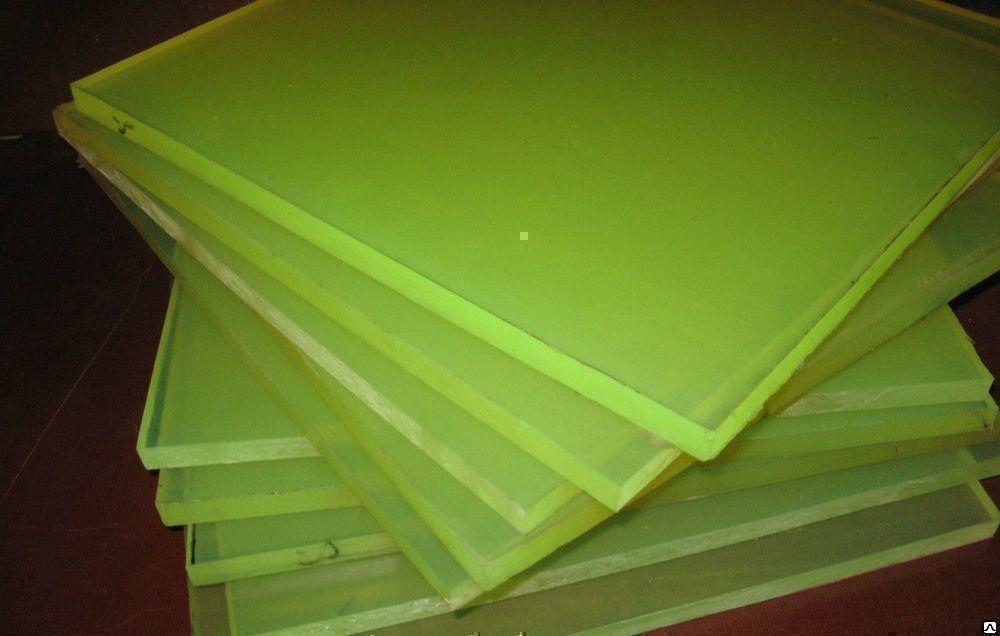 Полиуретановый лист 14мм, размер листа 1500*3500мм