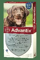 Капли для веса от 25кг от блох, клещей, комаров для собак Адвантикс Байер Advantix Bayer