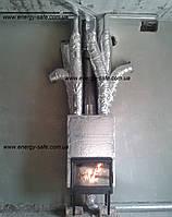 Воздушное отопление от камина. Монтаж розводки теплого воздуха.