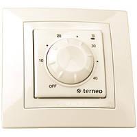 Регулятор температуры для теплых половTerneo rtp. Слоновая кость