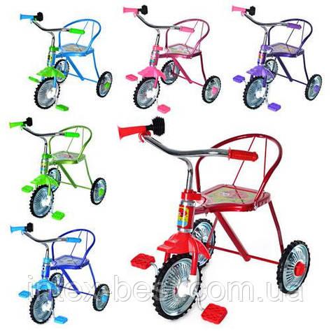 Трехколесный велосипед Bambi LH-701M-V (Фиолетовый), фото 2