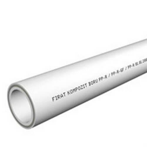Труба PP Compozite Pipe 20-grey стекловолокно