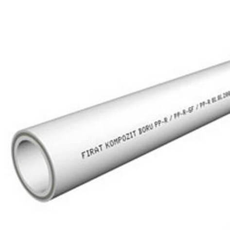 Труба PP Compozite Pipe 20-grey стекловолокно , фото 2