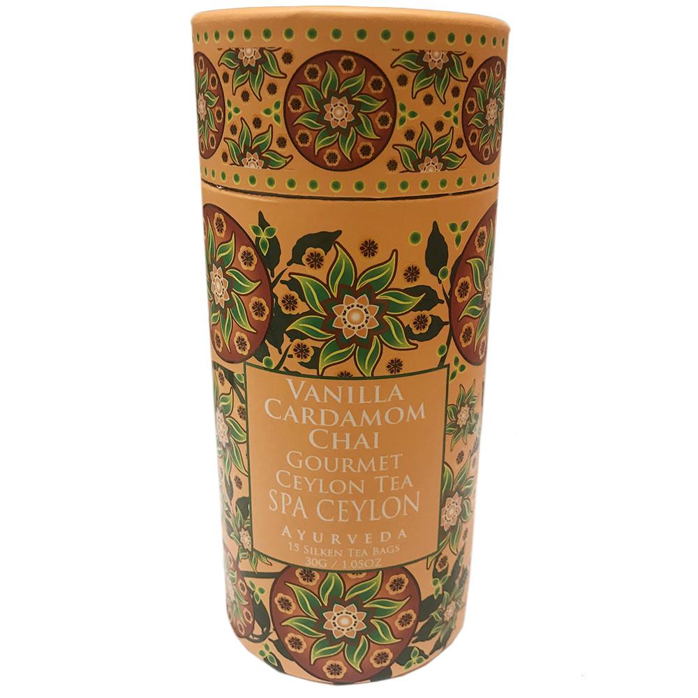 Цейлонский чай ВАНИЛЬНЫЙ КАРДАМОН