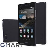 Чехол Nillkin Matte для Huawei P8 Lite (+ пленка) черный