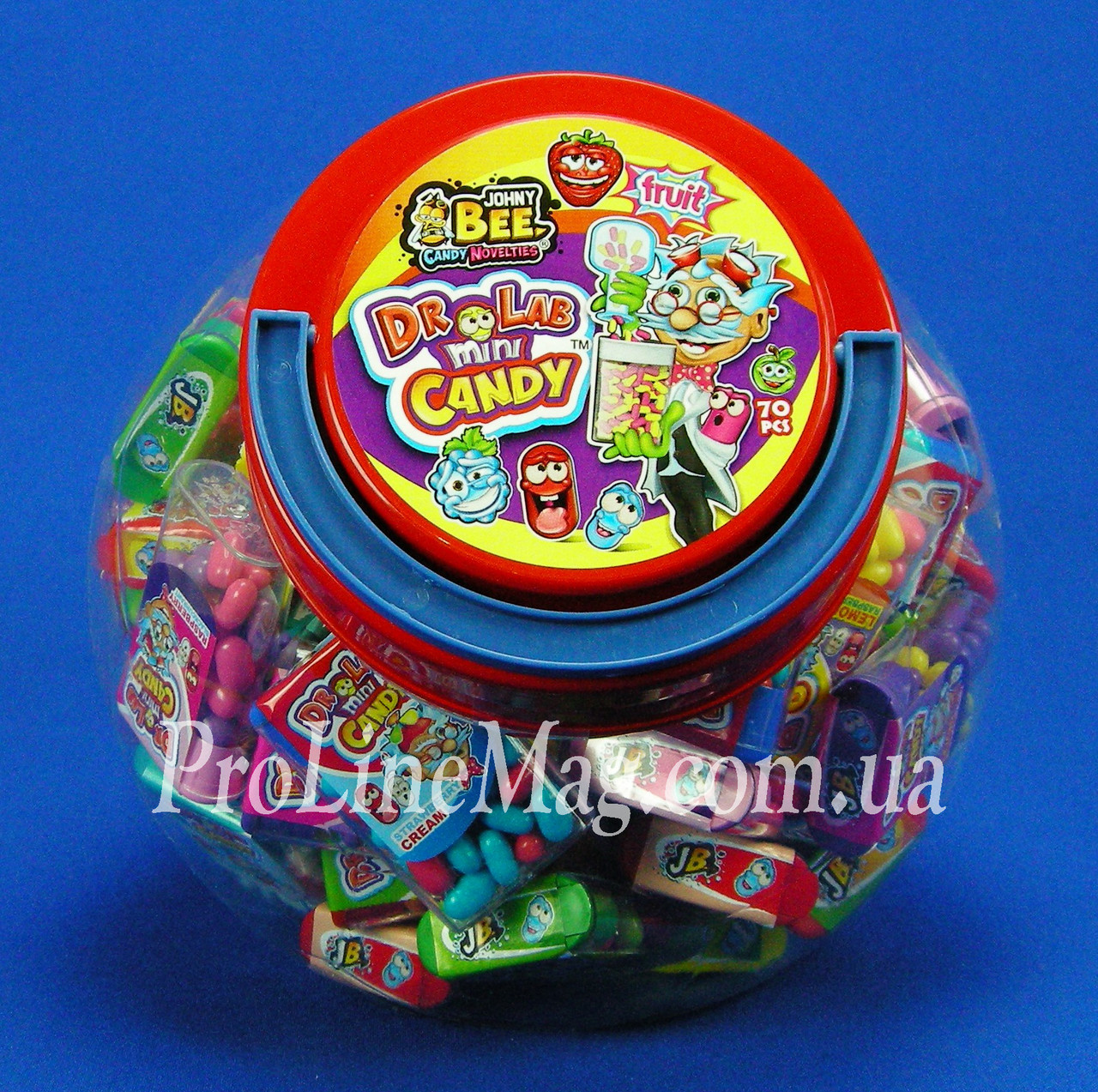 Конфеты - драже JOHNY BEE® Mini Candy Soccer