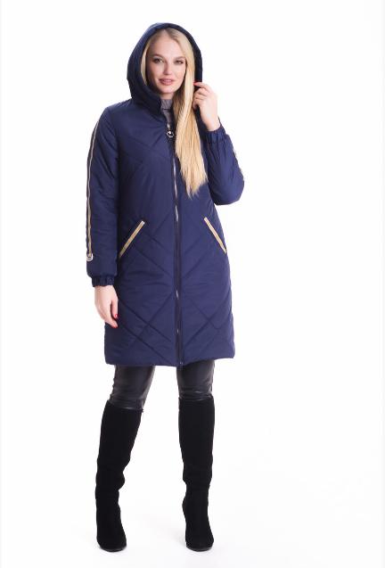 73b94a6adfe 42- Демисезонная куртка женская весна-осень деми в большом размере недорого  Украина р. 42-