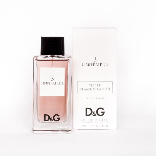 Жіночі парфуми DOLCE & GABBANA 3 Anthology L ' imperatrice ТЕСТЕР 100ml квітковий фруктовий аромат ОРИГІНАЛ