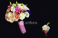 Яркие свадебные букеты, букеты невесты, свадебная флористика