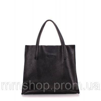 Сумка женская кожаная POOLPARTY Soho Versa черная, фото 1