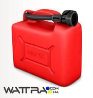 ⭐ Канистра (5 л) KS CAN 5 Könner & Söhnen пластиковая с лейкой для топлива