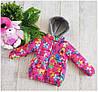Куртка для девочки 03 весна-осень, возраст от 3 до 6лет