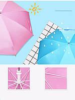 Светящийся детский зонт трость с фонариком