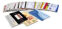 Цифровая печать визиток_4+0_мел300_96 шт