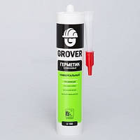 Герметик GROVER U100 силиконовый универсальный белый 300мл