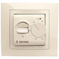 Комнатный терморегулятор Terneo mex unic.Cлоновая кость