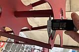 Роторная борона WEIMA 500\900(шестигранник 24мм)диам-33см,ширина захвата -70см(штука), фото 4