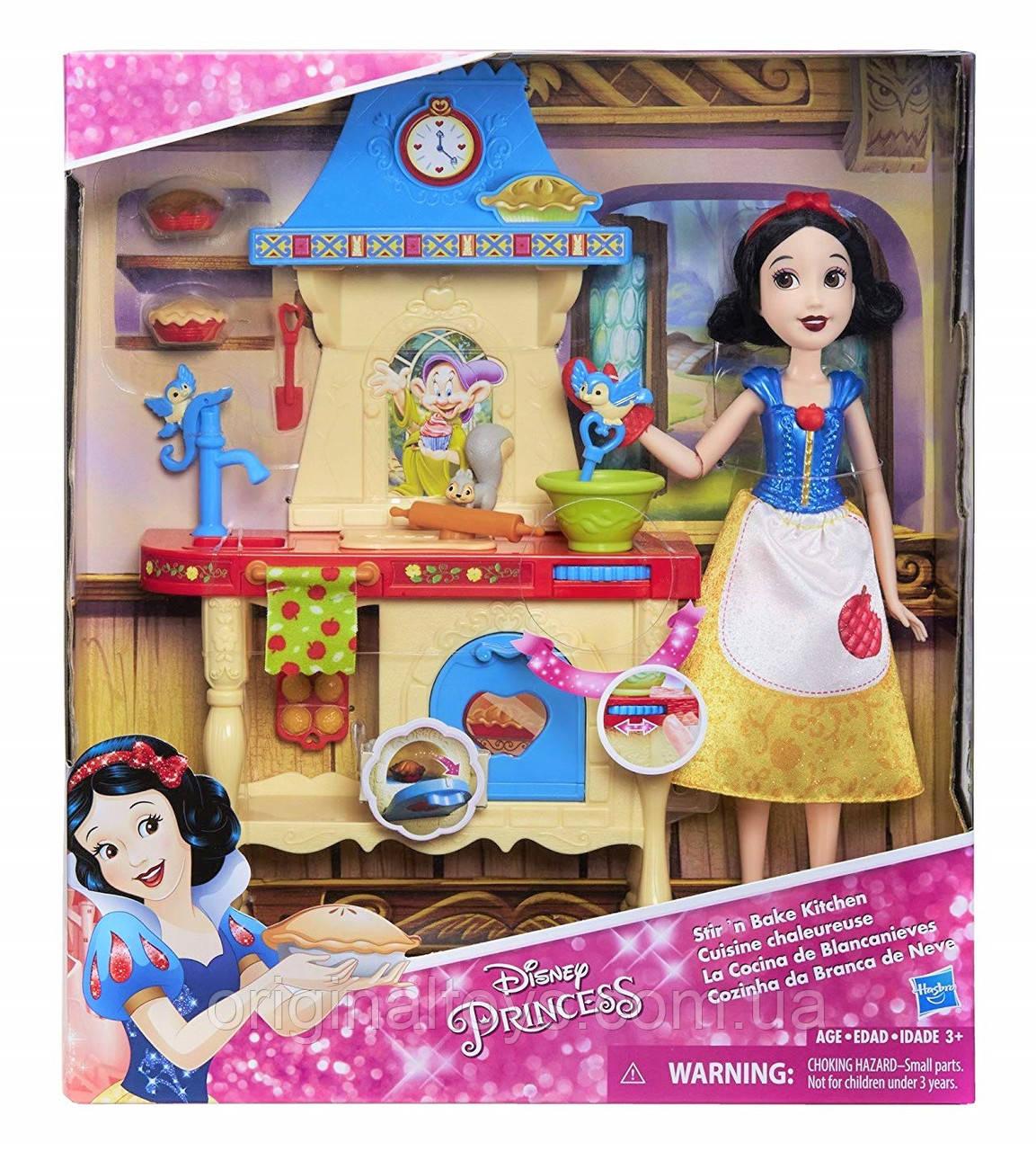 Игровой набор кухня Disney кукла Белоснежка Stir and Bake Hasbro C0540