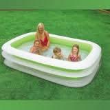 Детский надувной бассейн Семейный Intex 56483 (262х175х56 см.)