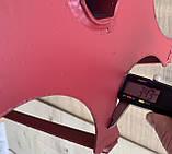 Роторная борона WEIMA 1100(шестигранник 32мм)диам-33см,ширина захвата -70см(штука), фото 6