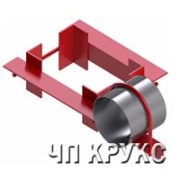 Опора УКГ 4, Крепление горизонтального газопровода серия 5.905-18.05