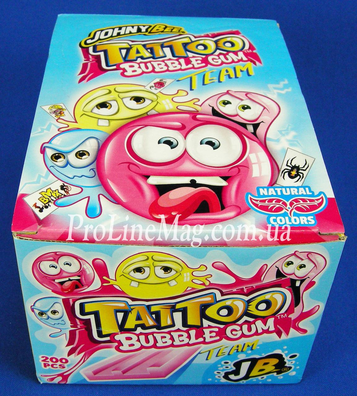 Жевательная резинкаJOHNY BEE® Tattoo Gum