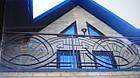 Кованый металлический балкон, фото 2