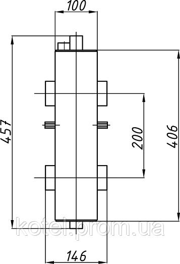 Схема гидрострелки Termojet СК-26