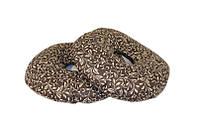 Подушка-кольцо от геморроя 10х40 см,тк.Голд (с гречневой шелухой)